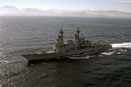 United States Spruance Class Destroyer, USS Fife (DD-991)